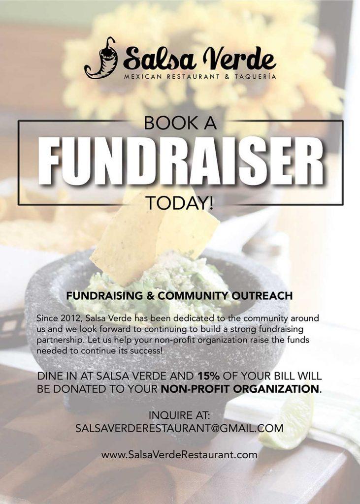 Fundraising  Salsa Verde Restaurant